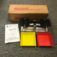 OHAUS Older Metal Model Primer Balance Scale - No.- 80410-00 - Fast Shipping