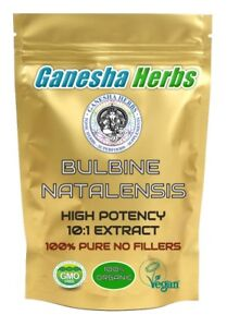 100% Pure Bulbine Natalensis 10:1 Extract Powder 50g.
