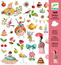 Djeco 'Princess Tea Party' Stickers 160