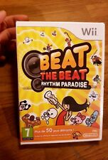 Beat the Beat Rythm Paradise Nintendo WII Game PAL FR - Scellé - Mint Neuf New