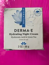 DERMA E Hydrating Night Cream 2 oz NIB Exp 08/2022