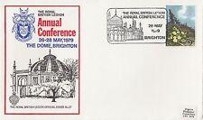 (83966) GB British Legion Cover 27 Conference Brighton 26 May 1979