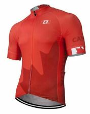 Canada Short Sleeve Cycling Jersey Free Shipping