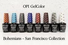 OPI GelColor Set 6 BOHEMIANS Gel + Base & Top Coat Kit San Francisco Collection
