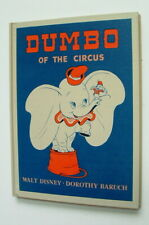 1948 Walt Disney Dumbo Of The Circus Book Fantastic Mint Unused