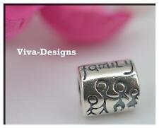 925 Sterling silver Family charm