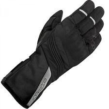 Gants chauffants noirs pour motocyclette Femme
