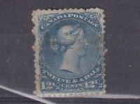 Canada QV 1868 12 1/2c SG60c Fine Used J3157