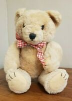 Vintage Pure Wool China Mohair Jointed Teddy Bear 12 inch