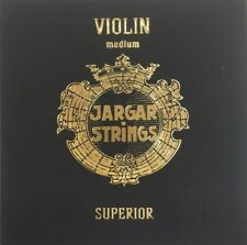 New Genuine Jargar SUPERIOR Violin String Set 4/4  Medium Gauge