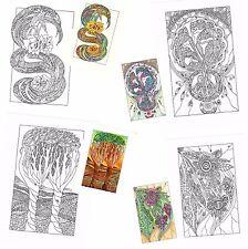 TI PIACE RILASSARTI COLORANDO?4 disegni in PDF da colorare  anche su smartphone