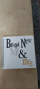 Wedding Memory Book Brand New Mr & Mrs