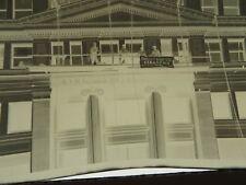 VTG Film Negatives Dime Building Detroit Frank J Knight Cleaners 1930s  #9007