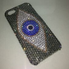 Evil Eye Crystal BLING BACK CASE FOR IPHONE x 10 Made w/ SWAROVSKI CRYSTALS