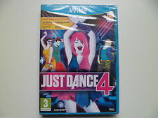 Just Dance 4 Nintendo Wii U NEW AND SEALED PAL
