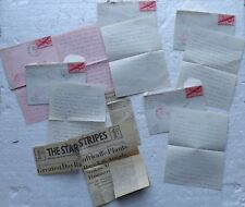 5 letters from England (Army Postal Service NYC - passed examiner) to sweetheart