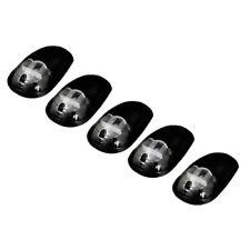 Recon 264146WHBKHP Smoked Cab Roof Light Lens (Set of 5)