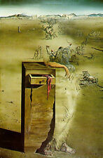 """Framed Print - Salvador Dali """"Spain"""" (Surrealist Painting Picture Poster Art)"""