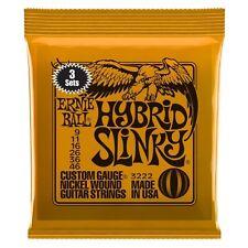 Ernie Ball 3222 Hybrid Slinky Nickel Wound Guitar Strings (9-46)