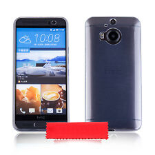 iDefend HTC Desire 630 Ultra Thin Clear Gel Silicone Case Cover + Protector