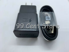 OEM Samsung Galaxy S10 Plus Fast Wall Charger Type C Cable For S8 S9 S10 Note 8