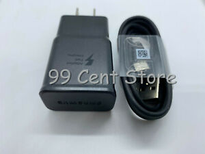 Fast Wall Charger Type C USB Cable For Samsung Galaxy S8 S9 S10 Plus Note 10