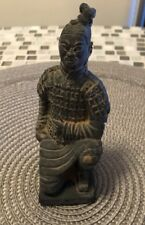 Qin Dynasty Terra Cotta Soldier Kneeling Soldier Reproduction