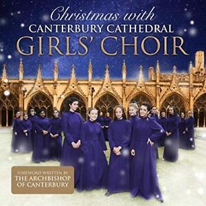 CANTERBURY CATHEDRAL GIRLS CHOIR Christmas With (2017) CD album New xmas