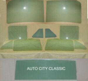 Chevrolet Sedan Glass 4 Dr Sed Windshield Vents Doors Back Styleline, 11 pc Set
