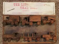 Vintage Store Display - Wooden Truck Assembly Kits - Made in USA Toy Cars