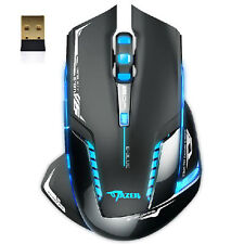 2500 DPI E-3lue 6D MAZER II BLUE LED 2.4GHz Wireless Optical Gaming GAME MOUSE