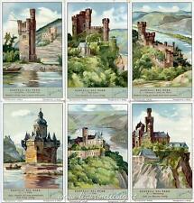 Chromo Liebig Sang. 1273 ITA Castelli del Reno ANNO 1933