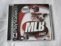MLB 2002 Major League Baseball (PlayStation PS1) Black Label Complete Excellent!
