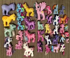Huge My Little Pony Toy Lot G2 G3 Ponies Accessories McDonalds & Full Size (36)