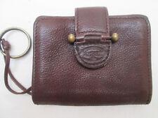 -AUTHENTIQUE porte-monnaie  FOSSIL cuir  TBEG vintage
