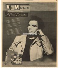 1977 Van Morrison A Period Of Transition Vtg Album Promo Print Ad
