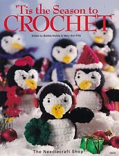 Tis the Season to Crochet, Pattern Book TNS 70215, 75 Plus Holiday Decor & Gifts