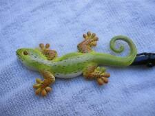 """HAND PAINTED FANCY """"GECKO """" BACK SCRATCHER #8- GREAT GIFT FOR ALL-UNIQUE DESIGN!"""