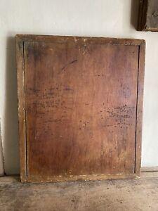 BIG Old Antique Handmade Wooden Dough Cutting Board Patina Breadboard Ends AAFA