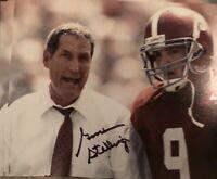 Gene Stallings Autographed signed Alabama Crimson Tide 8X10 Photo Gdst Holo V
