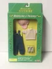 Madeline and Friends Doll Overalls Hat Shoes Outfit
