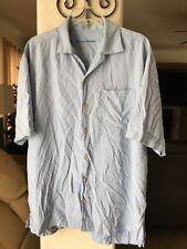 Tommy Bahama Short Sleeve Size Large Mens 100% Silk