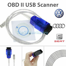VAG-COM VCDS USB Cable FTDI 409.1 Car Diagnostic Scanner OBD2 Tool for Audi VW