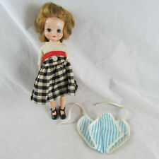 "8"" Betsy McCall Doll Romper Town and Country Dress Shoes American Character"