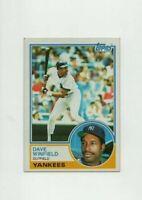 1983 Topps Dave Winfield Baseball Card #770 - New York Yankees HOF