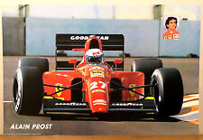 (PRL) 1991 FERRARI ALAIN PROST FORMULA 1 CAR AUTO VINTAGE AFFICHE PRINT POSTER
