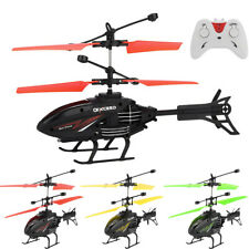 Small RC Infrared Induction Remote Control Helicopter 2CH Gyro RC Drone RTF