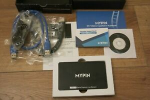 MyPin 4K 3.0 Game Capture Live Streaming card, boxed