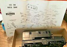 Athearn #1702 - 200 Ton Crane - ATSF  HO Scale Partially assembled