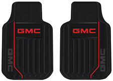 """2 Front GMC Plasticolor 001472R01 Floor Mats Liners 30"""" x 18"""" New Free Shipping"""